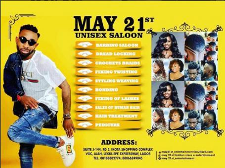 May 21st Unisex Salon